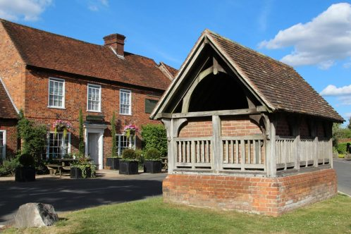 The Well House and The Royal Oak, Yattendon