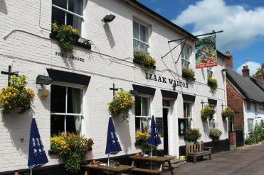 Izaak Walton pub, East Meon