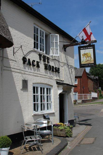 The Pack Horse pub, Tring Road, Wendover