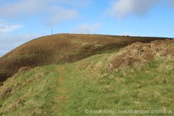 Cliff path to Radio Mast, Butter Hill, Countisbury
