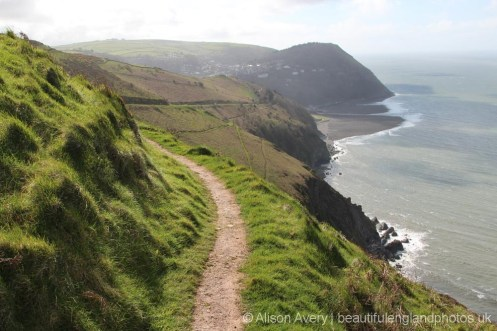 Coastal path to Lynmouth