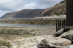 Countisbury, from beach, Lynmouth