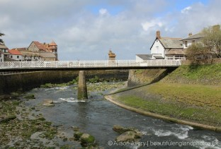 Footbridge over River Lyn, Lynmouth