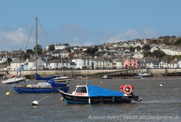 Instow Ferry and Appledore, from Instow