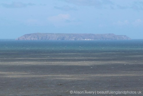 Lundy Island, from Hartland Point