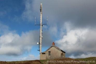 Radio Mast, Butter Hill, Countisbury