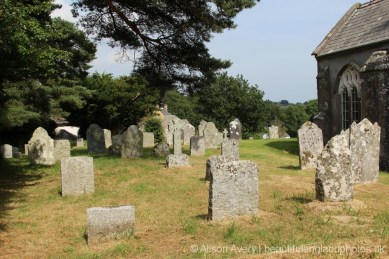 St. John the Baptist Churchyard, North Bovey, Dartmoor