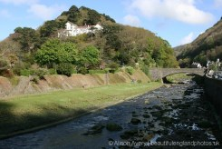 Tors Hotel, above River Lyn, Lynmouth