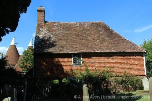 Church Cottage, from St. Margaret's Churchyard, Horsmonden