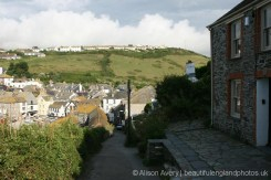 Roscarrock Hill, from Fern Cottage, (Doc Martin's house) Port Isaac