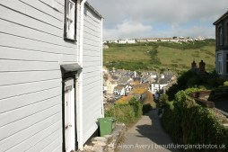 Roscarrock Hill, from Northcliffe House, Port Isaac