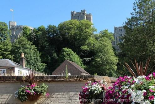 Windsor Castle, from garden, The Royal Oak, Windsor