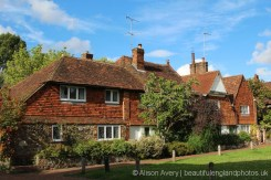 Manor Cottage and The Old Manor House, Village Green, Brasted