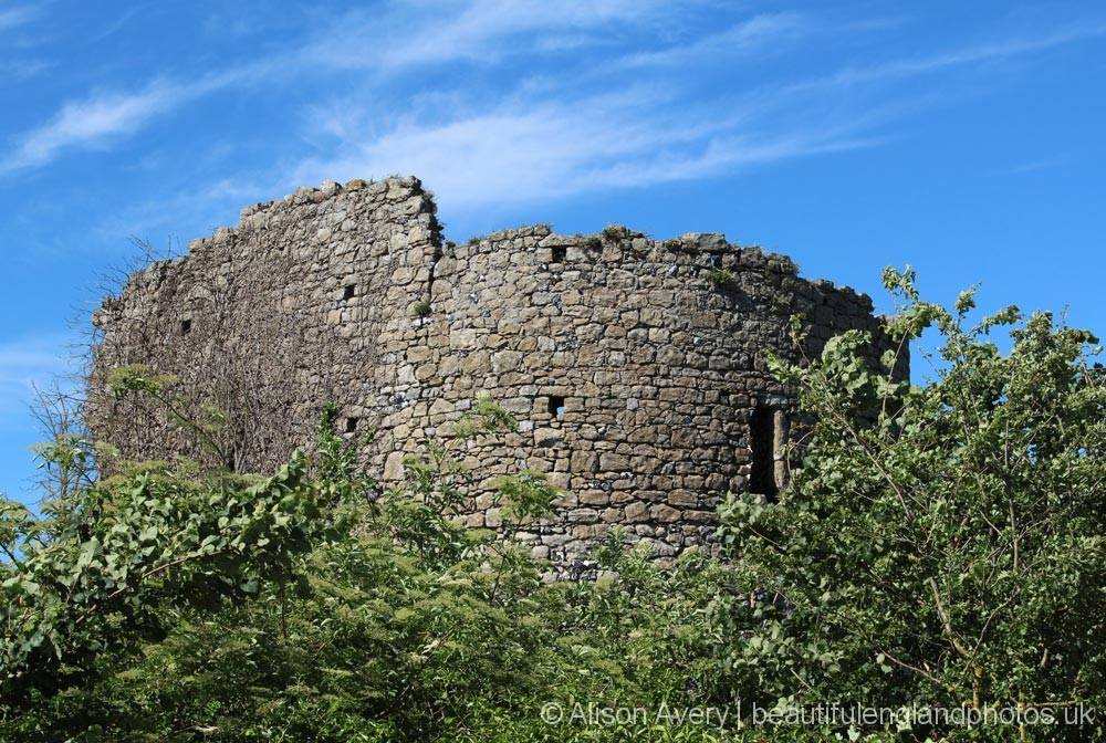 Ruined tower, Cooling Castle, Cooling