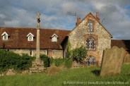The Stone House and St. Mary Magdalene Churchyard, Cobham