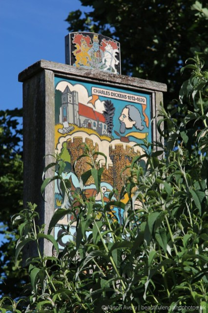 Village sign, Cooling