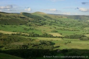 Back Tor and Lose Hill, from Winnats Head Farm, Castleton, High Peak