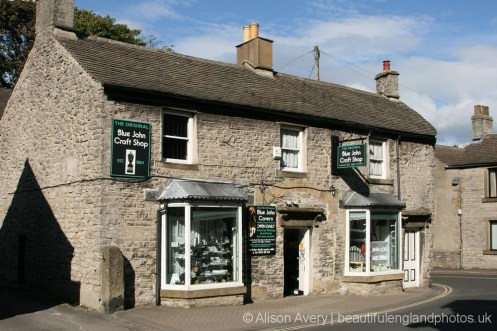 Blue John Craft Shop, Castleton