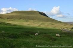 Mam Tor, from road leaving, Castleton, High Peak
