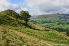 Path to Back Tor and Edale, from The Great Ridge, Peak District