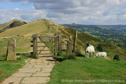 Path to Hollins Cross, The Great Ridge, Peak District