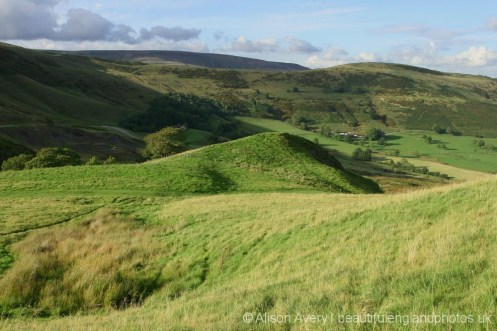 The Great Ridge, from Winnats Head Farm, Castleton, High Peak