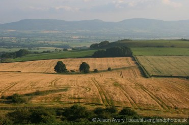 Cleveland Hills, from Roseberry Topping, North York Moors