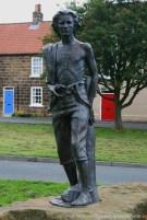 James Cook Sculpture, High Green, Great Ayton