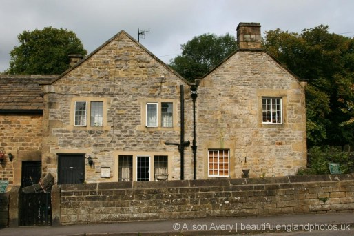 Plague Cottages, where the Hawksworth family died, Eyam