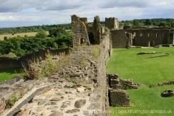 East wall, Richmond Castle, Richmond
