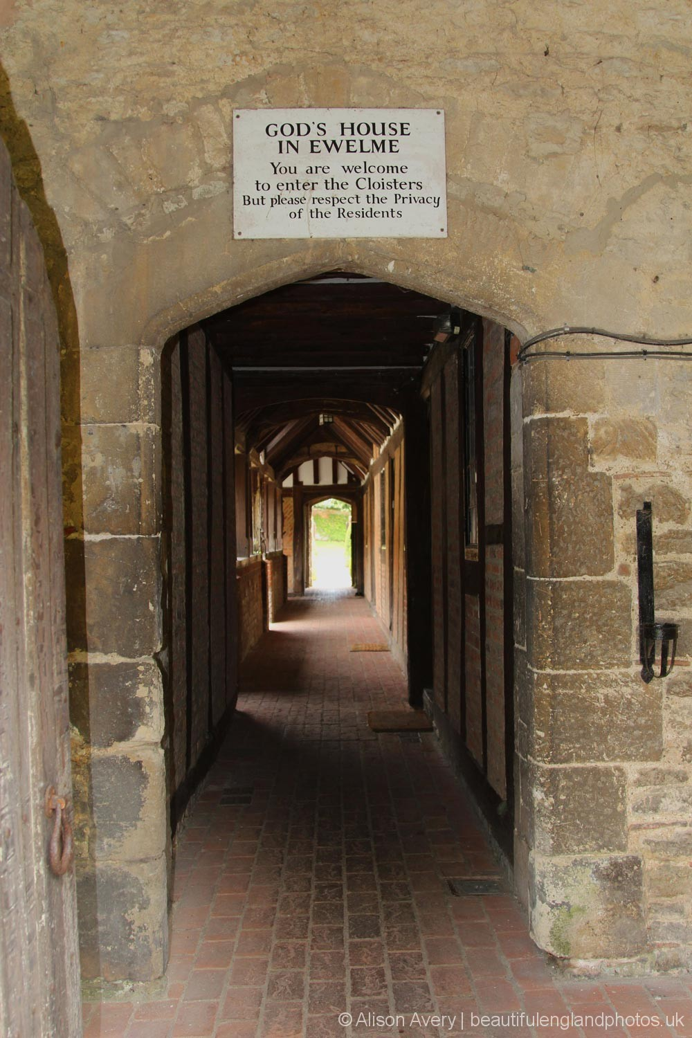 Entrance to the Cloisters, Almshouses, Ewelme