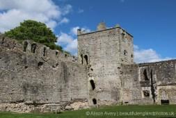Ashton's Tower, Inner Bailey, Portchester Castle, Portchester