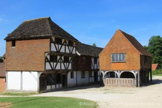 Horsham Medieval Shop and Titchfield Market Hall, Weald and Downland Living Museum, Singleton