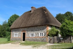 House from Walderton, Weald and Downland Living Museum, Singleton