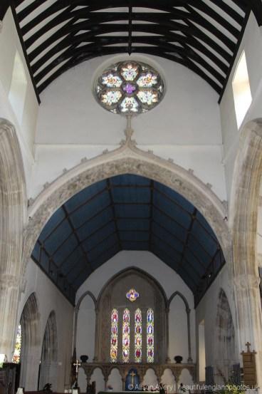 Interior, St. Andrew's Church, Castle Combe