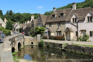 Town Bridge over the Bybrook River, Castle Combe