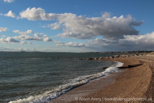 Across The Solent to Fawley, from Lee-on-the-Solent