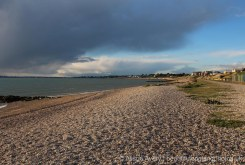 Rain clouds approaching Lee-on-the-Solent