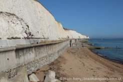 Beach and Undercliff Walk, from Brighton Marina, Brighton
