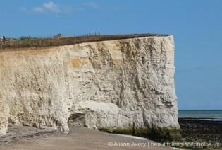 Chalk headland, Telscombe Cliffs
