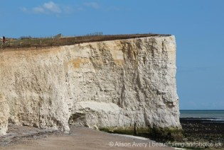 Chalk headland, Telscombe Cliffs