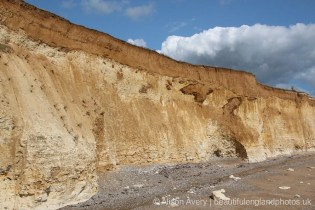 Cliff erosion, Telscombe Cliffs