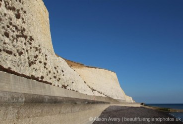 Sea wall, Bastion Steps, Peacehaven