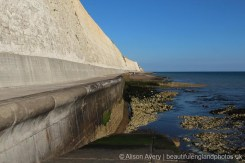 Sea wall, Undercliff Walk, Peacehaven