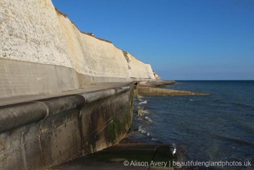 Sea wall, Undercliff Walk, Peacehaven