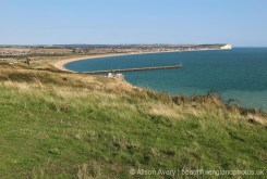 Seaford Bay, from Seahaven Coastal Trail, Castle Hill, Newhaven
