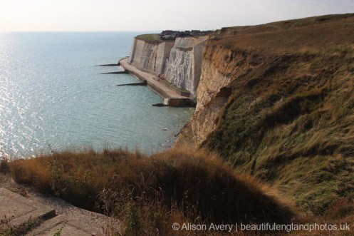 Undercliff Walk, Peacehaven, from Seahaven Coastal Trail
