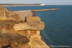 World War II coastal defences, Seahaven Coastal Trail, near Newhaven