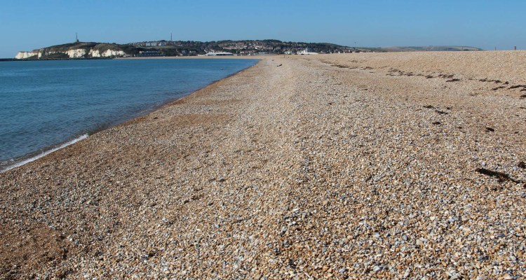 Tide Mills Beach, between Seaford and Newhaven