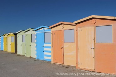Beach huts, Seaford